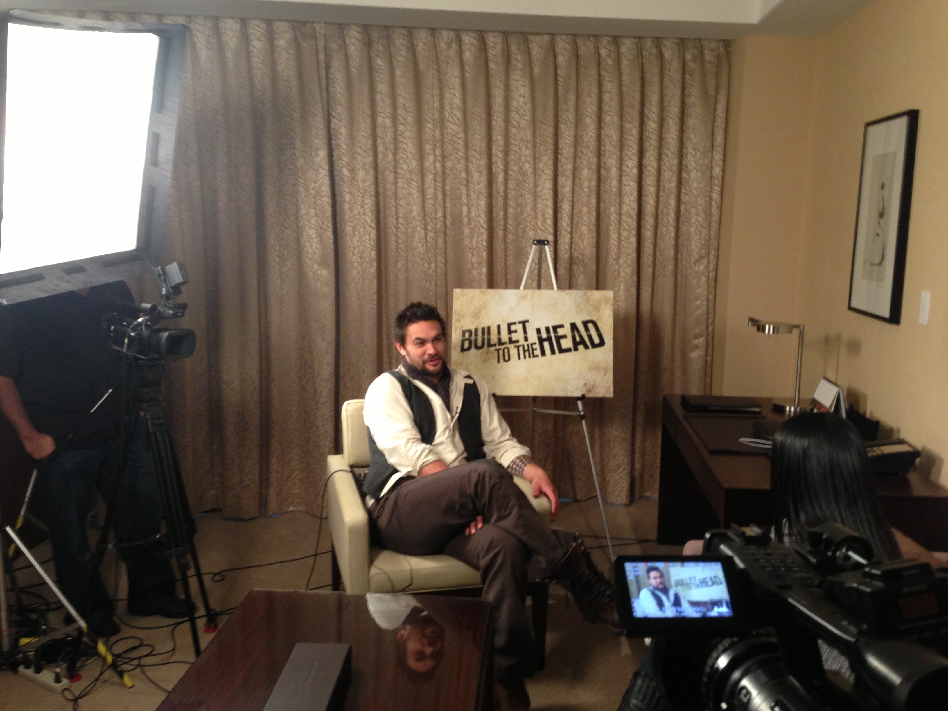 LiVECAST.ca - Bullet to the Head Press Junket